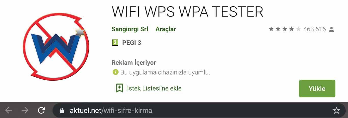 Mobil WPA Wifi Kırıcı