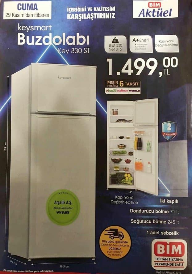 Bim KeySmart Buzdolabı