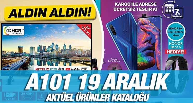 A101 19 Aralık 2019 Kataloğu
