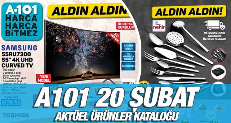 A101 20 Şubat 2020 Kataloğu