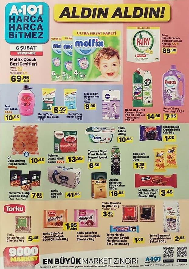 A101 13 Şubat Çocuk Bezi