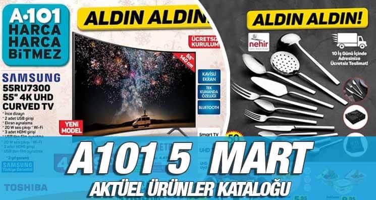 A101 5 Mart 2020 Kataloğu