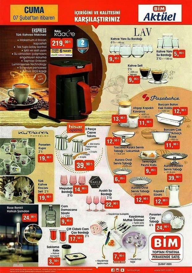 Bim 7 Şubat Kahve Makinesi