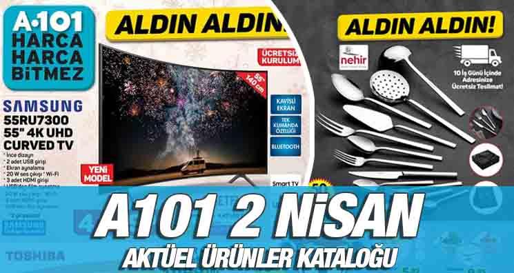 A101 2 Nisan 2020 Kataloğu