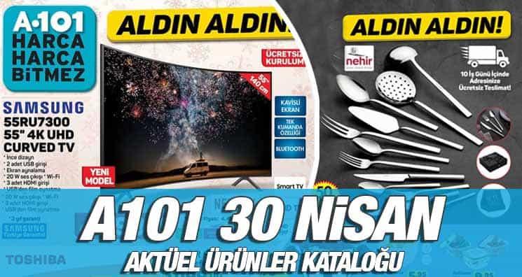 A101 30 Nisan 2020 Kataloğu