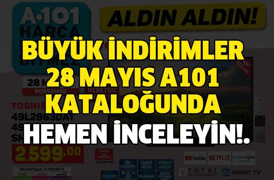 A101 28 Mayıs 2020 Kataloğu!.