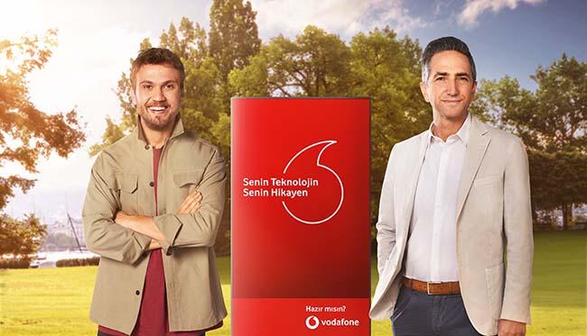 Vodafone'un yeni reklam yüzü Aras Bulut İyinemli oldu