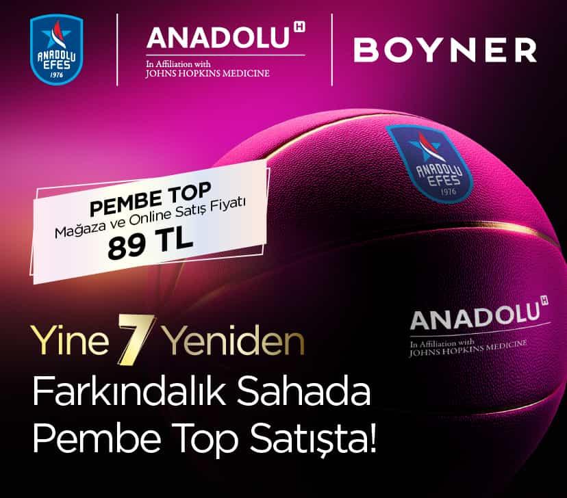 """Boyner'den """"Pembe Top Sahada"""" projesine büyük destek"""