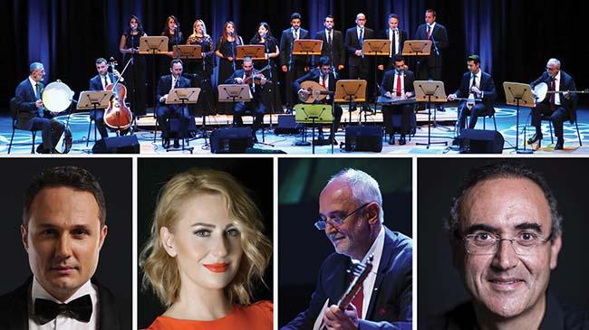 CRR Türk Müziği Topluluğu İstanbul'un şarkılarını seslendirdi,