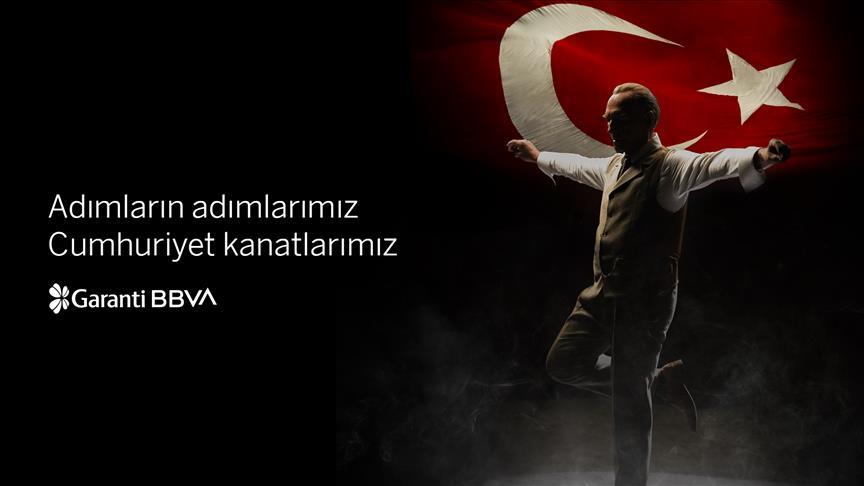 Garanti BBVA'nın Cumhuriyet Bayramı reklamına yoğun ilgi