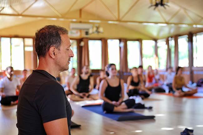 Yoga tutkunlarına özel festivale ilgi yoğun oldu