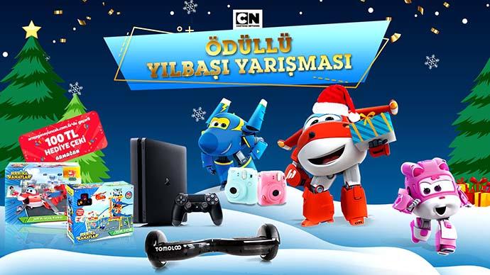 Cartoon Network'ün beklenen ödüllü yılbaşı yarışması 30 Aralık tarihine kadar devam ediyor