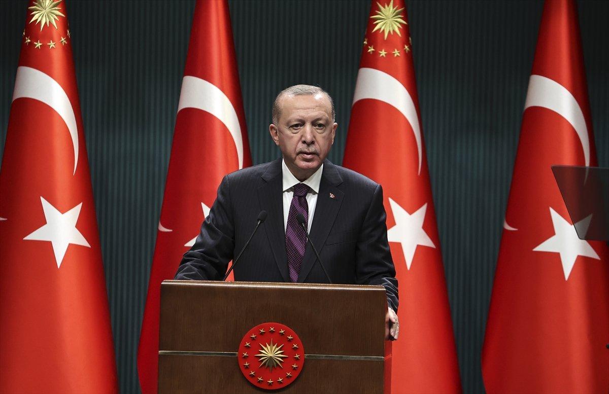 Cumhurbaşkanı Erdoğan yüz yüze eğitimin 15 Şubat'a kadar ertelendiğini duyurdu