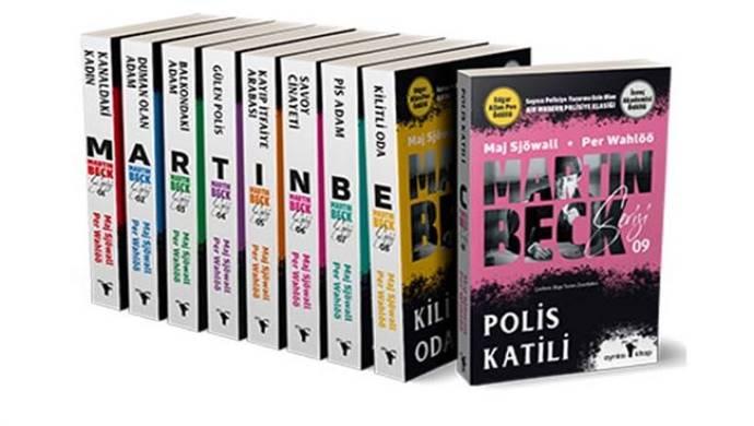 Dünyaca ünlü İsveçli yazarların Polis Kitabı adlı romanı raflarda yerini aldı