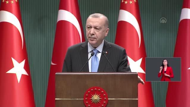 Cumhurbaşkanı Erdoğan Telegram uygulamasından bugünkü mesaisini paylaştı