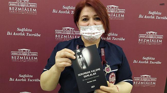Hemşire Nezahat Kaya gerçek hasta hikayelerini kitap haline getirdi