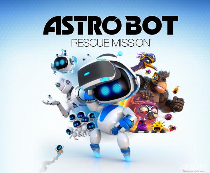 Enter the Astro Bot Rescue