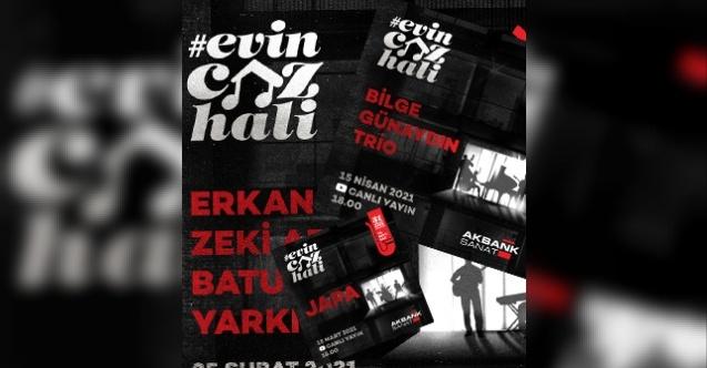 Evin Caz Hali Konserleri Bilge Günaydın Trio ile devam ediyor