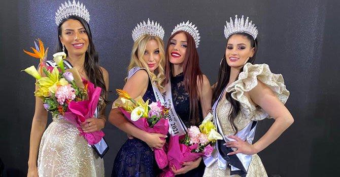 Miss Europe 2021 Yarışmasında Türk Manken Üçüncü Oldu