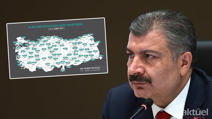 Sağlık Bakanı Fahrettin Koca 5 İli Özellikle Uyardı