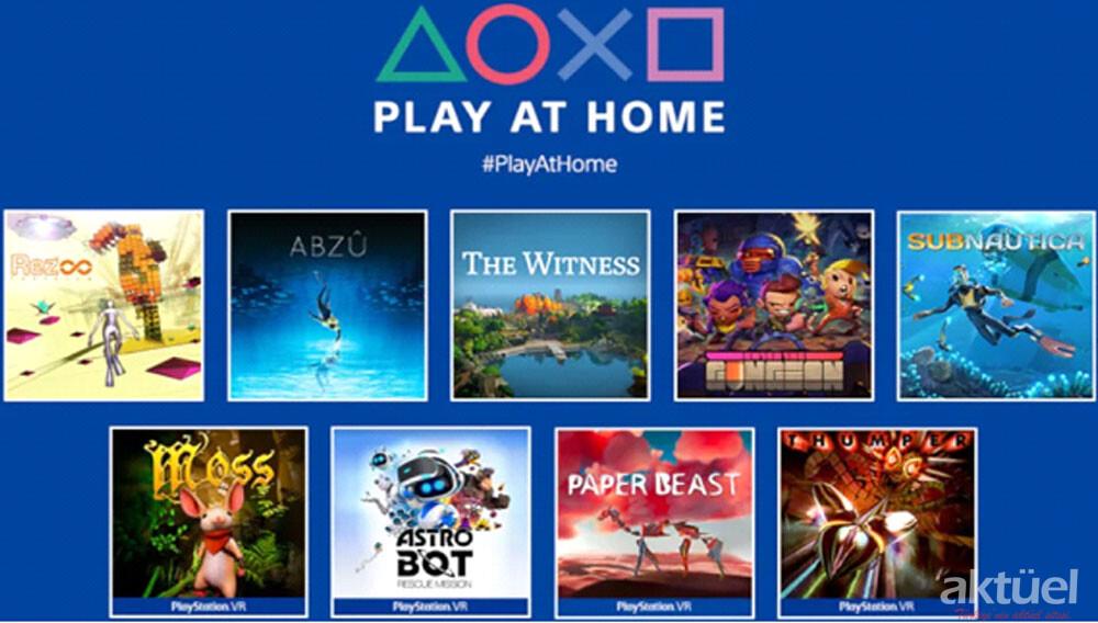 Sony Play at Home Etkinliğiyle 10 Oyunu Ücretsiz Olarak Paylaşacak
