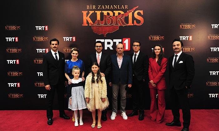 """TRT """"Bir Zamanlar Kıbrıs"""" dizisiyle Perşembe günleri de zirveye oynuyor"""