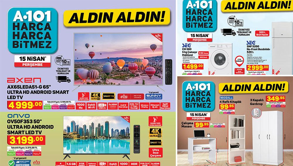 A101 15 Nisan 2021 Aktüel Ürünleri