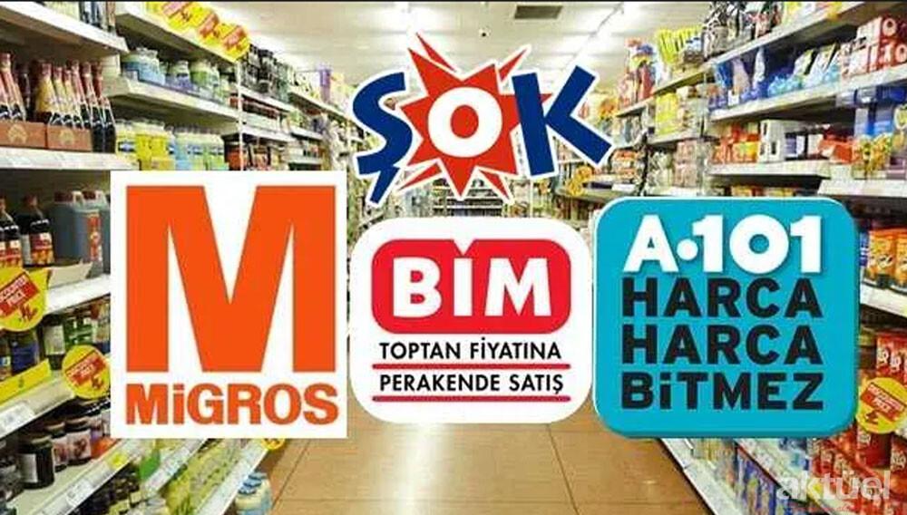 A101, BİM, ŞOK ve Migros Marketlerinin Açılış ve Kapanış Saatleri Değişti
