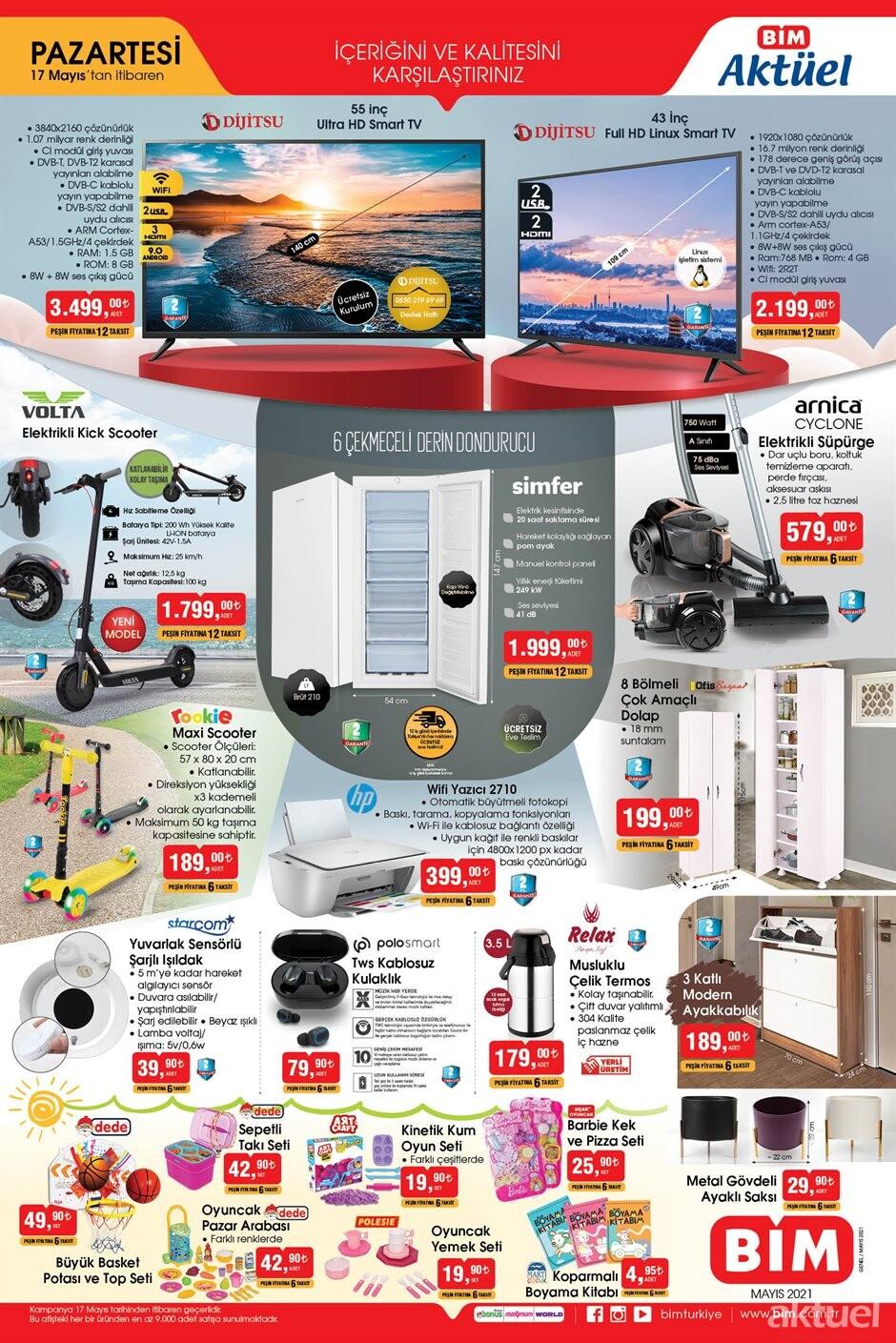 Bim Elektronik Aktüel Ürünler