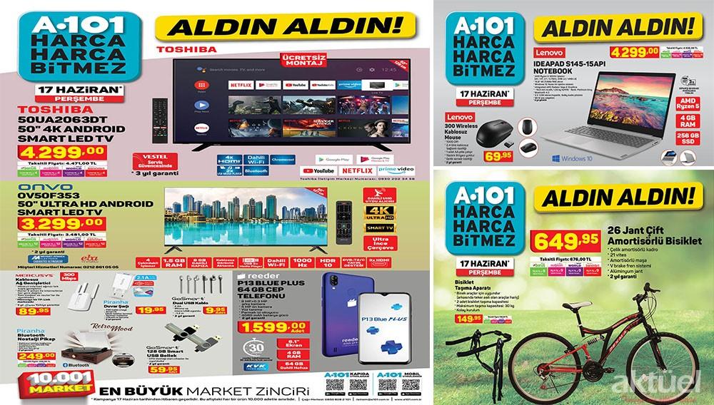 A101 17 Haziran 2021 Aktüel Ürünler