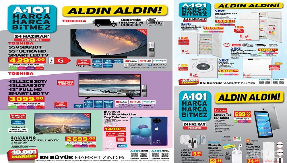 A101 24 Haziran 2021 Aktüel Ürünleri