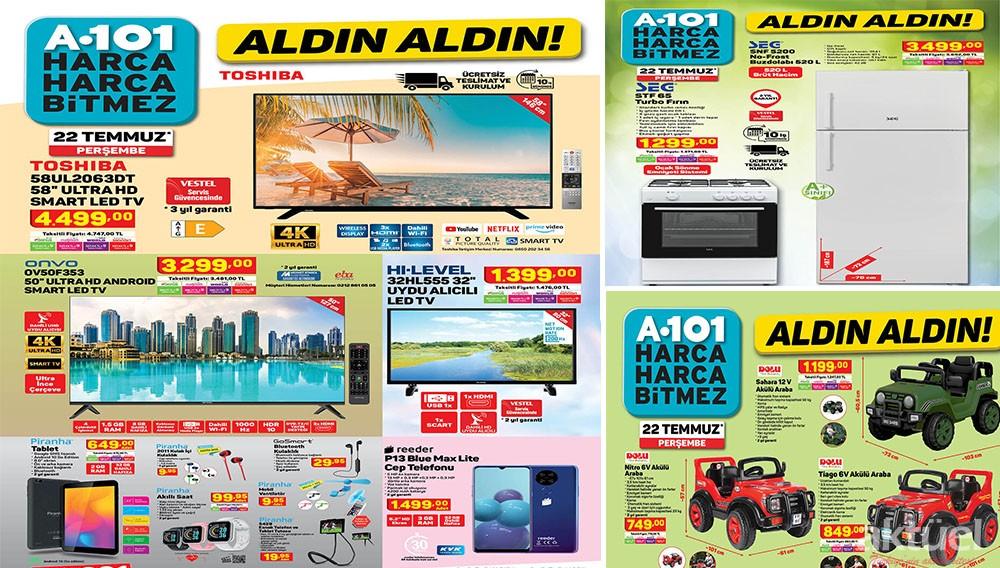 A101 22 Temmuz 2021 Aktüel Ürünleri