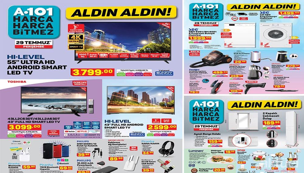 A101 29 Temmuz 2021 Aktüel Ürünleri