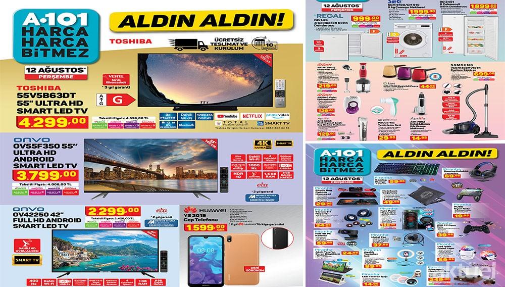 A101 12 Ağustos 2021 Aktüel Ürünleri