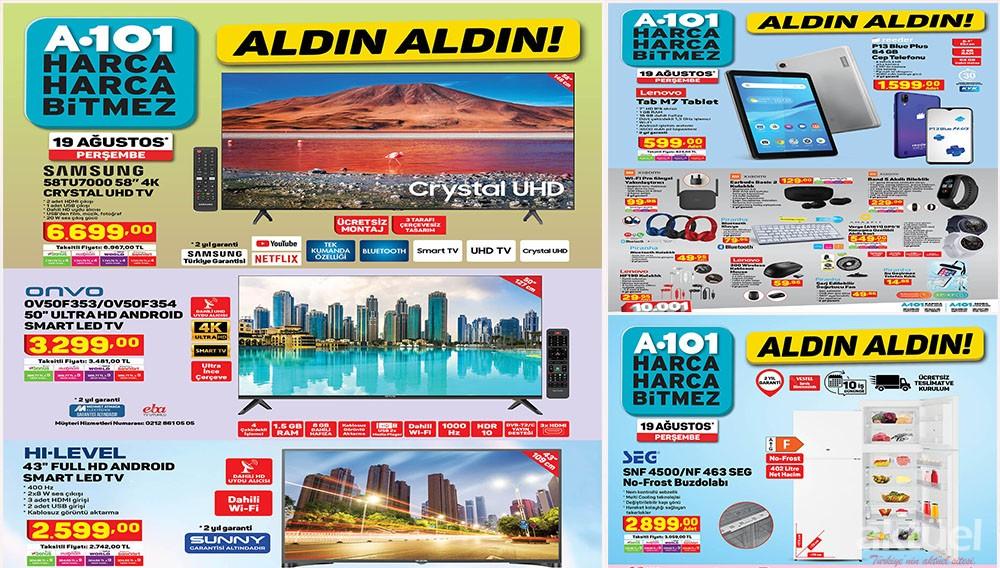 A101 19 Ağustos 2021 Aktüel Ürünleri