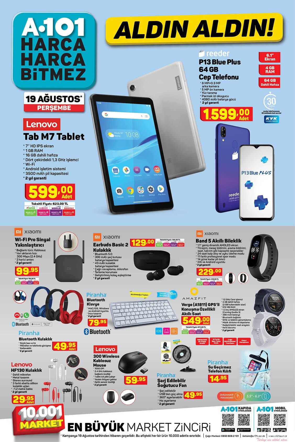 A101 19 Ağustos 2021 Elektronik Cihazlar