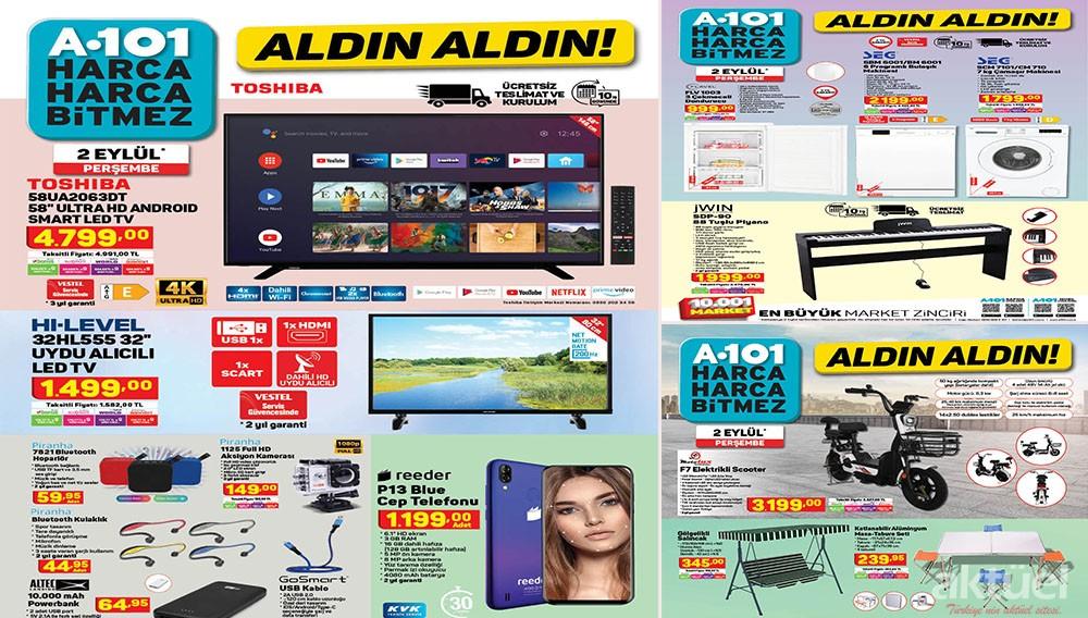 A101 2 Eylül 2021 Aktüel Ürünleri