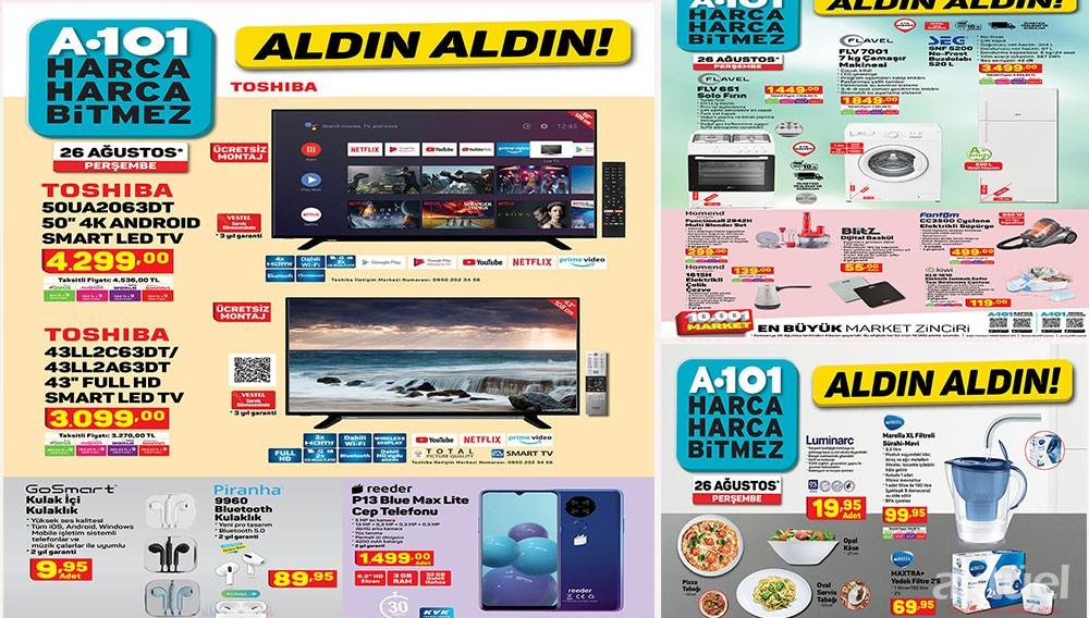 A101 26 Ağustos 2021 Aktüel Ürünleri