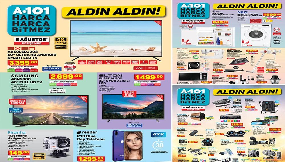 A101 5 Ağustos 2021 Aktüel Ürünleri