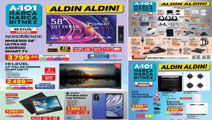 A101 30 Eylül 2021 Aktüel Ürünleri