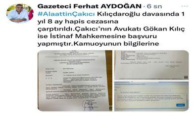 Çakıcı'nın Hapis Cezasına Açıklama Danışmanı ve Avukatından Geldi